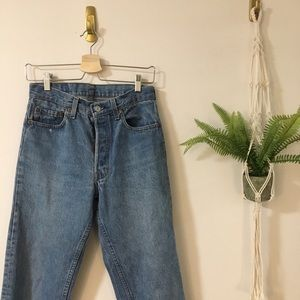 Levi's High Waisted Jeans
